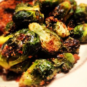 """Drunken"" Caramelized Brussels Sprouts"