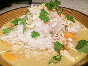 Spicy Thai Coconut Green Curry