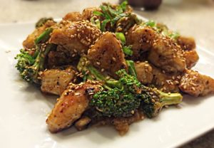 Spicy Orange Chinese Chicken