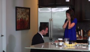 The Best Proposal for a Foodie – Video