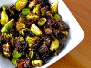 Crispy Brussels Sprouts w/ Sweet Chili Dressing