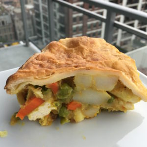 Vegetable and Tofu Coconut Curry Pot Pie