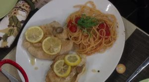 Lemon Butter Chicken  & Sun-dried Tomato Pesto Pasta (as seen on Windy City Live)