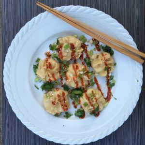 Easy Asian Chicken Wontons