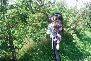 Elia's First Family Day Trip: Apple Holler