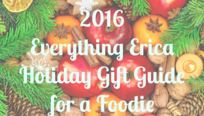 2016 Holiday Gift Guide for a Foodie