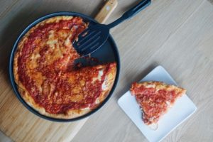 Chicago-Style Deep Dish Pizza