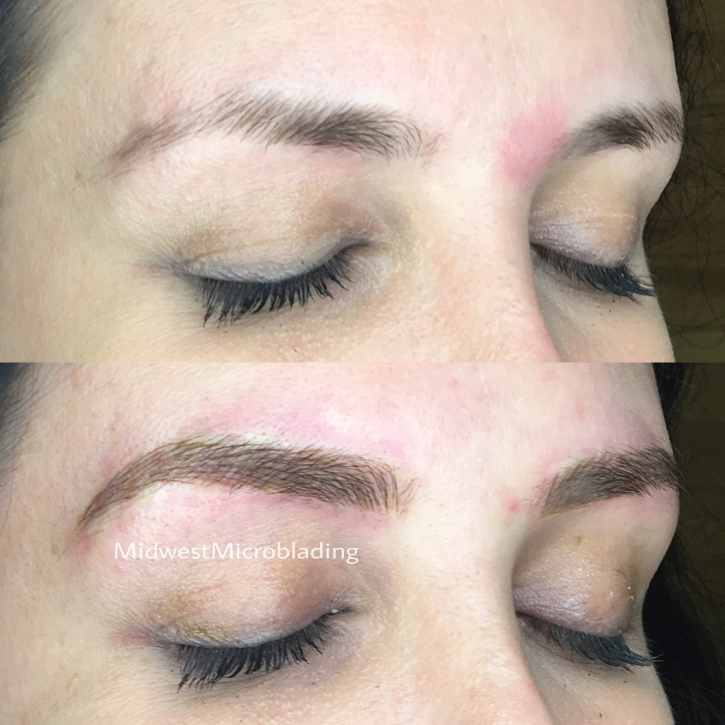 Midwest Microblading before and after