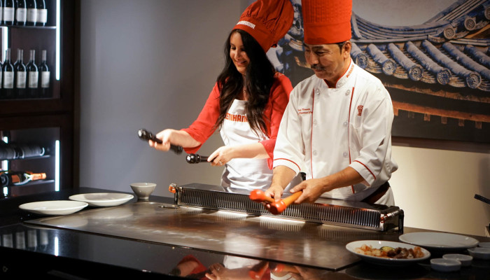 Be the Chef at Benihana Downtown Chicago!