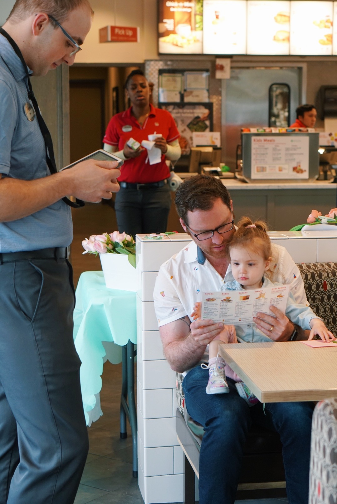 Daddy Daughter Date Night Chick Fil A 2018